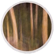 Magical Wood Round Beach Towel
