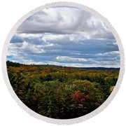 Magnificent Minnesota Round Beach Towel