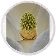 Magnolia II Round Beach Towel