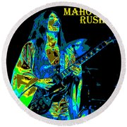 Mahogany Rush Seattle 1978 B Round Beach Towel