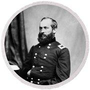 Major General Garfield, 20th American Round Beach Towel