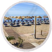 Marbella Holiday Beach Round Beach Towel