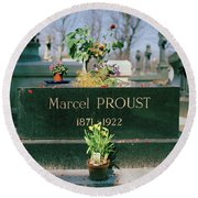 Proust Round Beach Towel