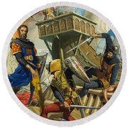 Marco Polo Round Beach Towel