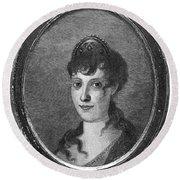Maria Bonaparte (1750-1836) Round Beach Towel