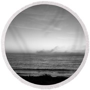 Marina - Afterlight Round Beach Towel