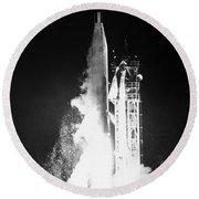 Mariner 1: Launch, 1962 Round Beach Towel