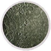 Mariner 10 Mosaic Of Mercury Showing Round Beach Towel