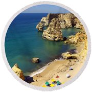 Marinha Beach Round Beach Towel