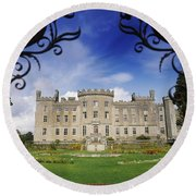 Markree Castle, Collooney, Co Sligo Round Beach Towel