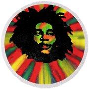 Marley Starburst Round Beach Towel