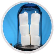 Marshmallows In A Vacuum, 5 Of 5 Round Beach Towel