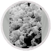 Martian Co2 Crystals Round Beach Towel