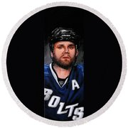Marty St. Louis Round Beach Towel