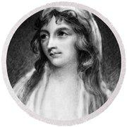 Mary Tighe (1772-1810) Round Beach Towel