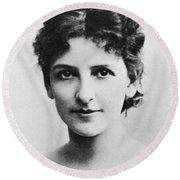 May Robson (1858-1942) Round Beach Towel