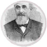 Mayer Lehman (1830-1897) Round Beach Towel