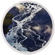 Mckinley Quicksilver Round Beach Towel