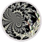Medallion Round Beach Towel