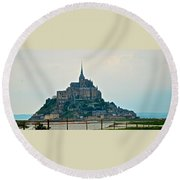 Medieval Wonder Round Beach Towel