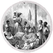 Memphis: Black Orphanage Round Beach Towel