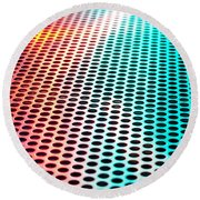 Metal Sheet Round Beach Towel