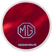 Mg 1600 Mk II Emblem Round Beach Towel