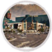 Mgm Grand - Impressions Round Beach Towel