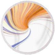 Micro Linear 24 Round Beach Towel