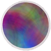 Mirage Of Color Round Beach Towel