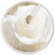 Miss Bee Haven II Round Beach Towel