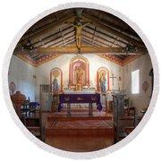 Mission San Antonio De Padua 3 Round Beach Towel
