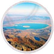 Mono Lake - Planet Earth Round Beach Towel