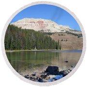 Montana100 0883 Round Beach Towel
