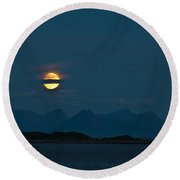 Moonlight Series - 3 Round Beach Towel