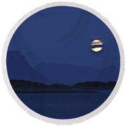 Moonlight Series - 4 Round Beach Towel