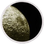 Moons Southern Hemisphere Round Beach Towel by Science Source