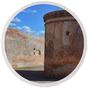 Mortuary Chapel Round Beach Towel