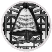 Moscow: Bell Tower, 1698 Round Beach Towel