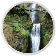 Multnomah Round Beach Towel