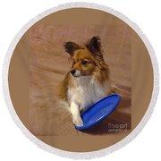 My Frisbee Round Beach Towel