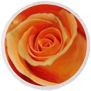 My Wonderful Rose Round Beach Towel