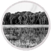 Myakka River Wilderness Round Beach Towel