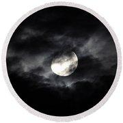 Mystic Moon Round Beach Towel