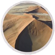 Namib Desert Round Beach Towel