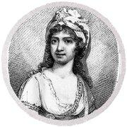 Nancy Storace (1765-1817) Round Beach Towel