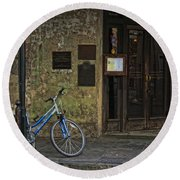 Napoleon House New Orleans Round Beach Towel
