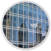 Nashville Reflections Round Beach Towel