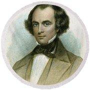 Nathaniel Hawthorne Round Beach Towel