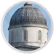National Gallery Cupola Round Beach Towel